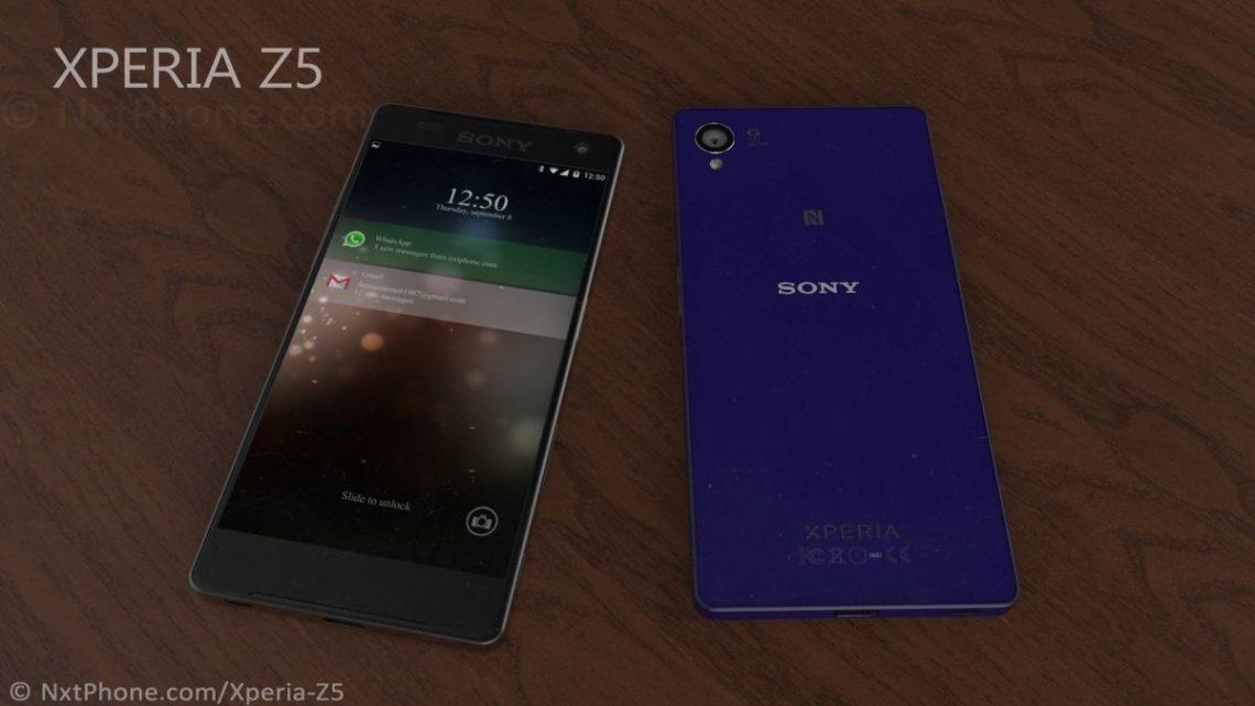 เครื่องจริงยังไม่มา งั้นมาดูภาพ Concept Render ของ Sony Xperia Z5 กันก่อน