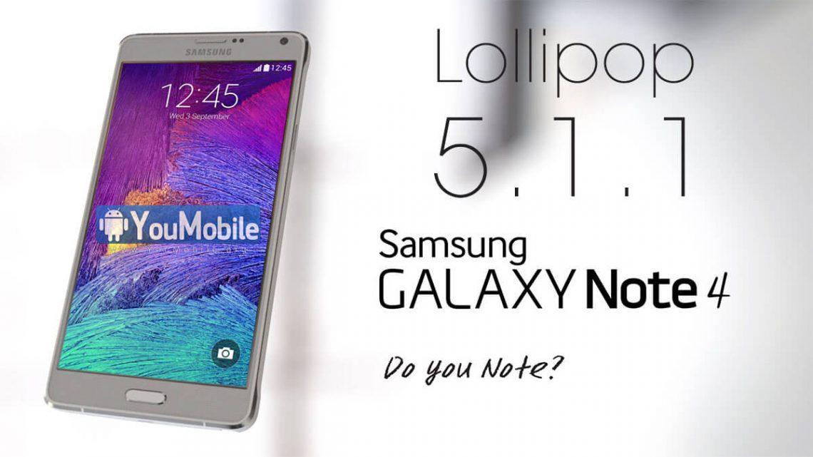 เมื่อ Android Lollipop 5.1.1 มาอยู่บน Samsung Galaxy Note 4 เครื่องศูนย์ไทย