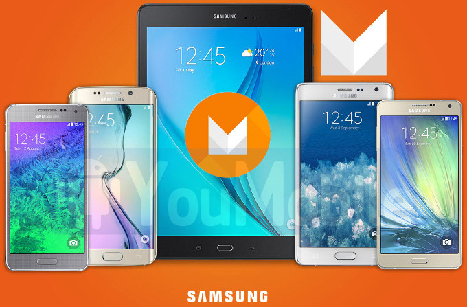 ออกมาแล้วรายชื่อ Samsung ชุดแรกที่จะได้รับการอัพเกรด Android Marshmallow เจอกันต้นปี 2016