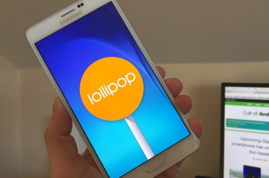 มาแล้วววว Android 5.1.1 Lollipop สำหรับ Galaxy Note 4 เครื่องศูนย์ไทย อัพเดตได้เลย