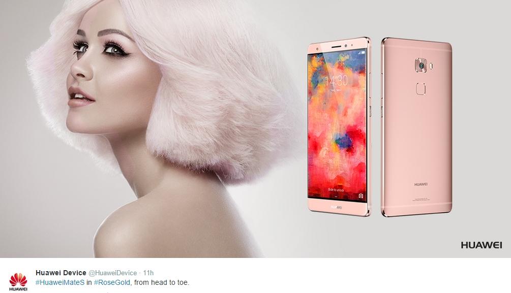 Huawei Mate S rose gold iPhone 01
