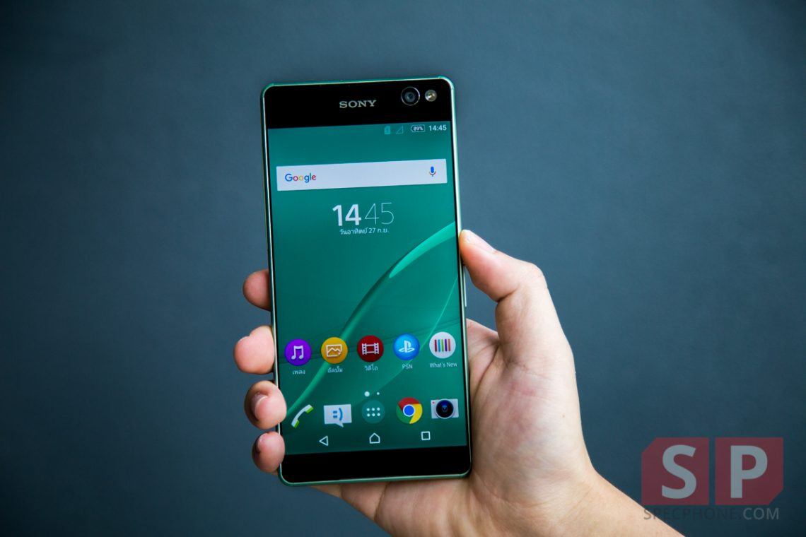 [Review] โทรศัพท์มือถือ Sony Xperia C5 Ultra จอ 6 นิ้วไร้ขอบ กล้องหน้า 13 ล้าน พร้อมแฟลช LED ในราคา 12,990 บาท