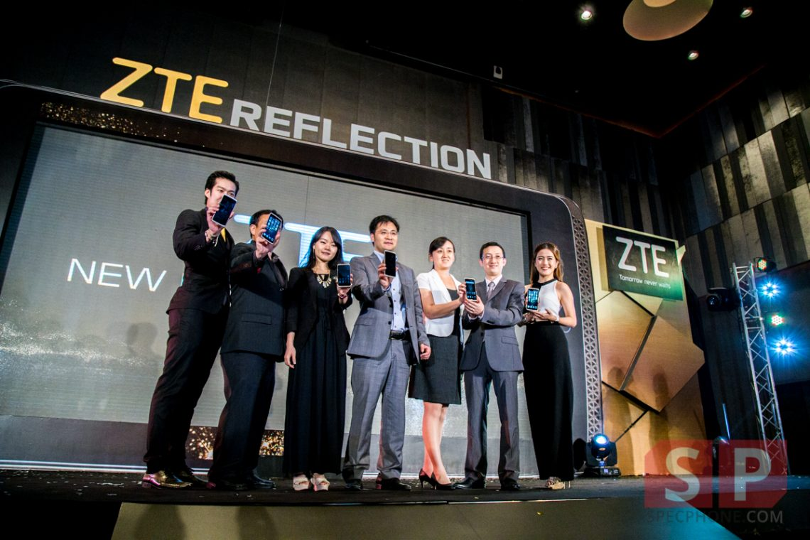 (Hands-On) เปิดตัว ZTE Axon 3 รุ่น ที่มาพร้อมกล้องถ่ายภาพคู่ f/1.8 และ ระบบสแกนม่านตา