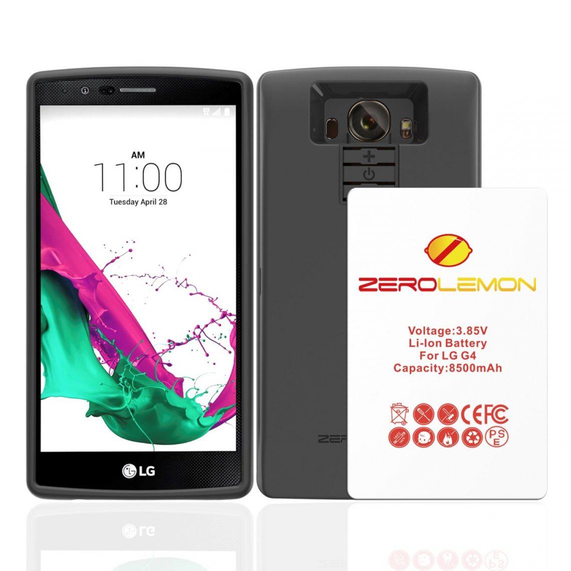 เสริมความอึดให้กับ LG G4 ด้วยแบตเตอรี่ 8500 mAh จาก Zerolemon
