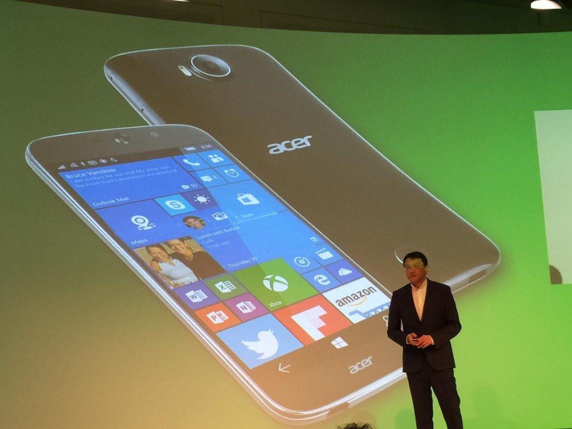 Acer Jade Primo มือถือเครื่องแรก ที่รัน Windows 10 Mobile เปิดตัวแล้วในงาน IFA 2015