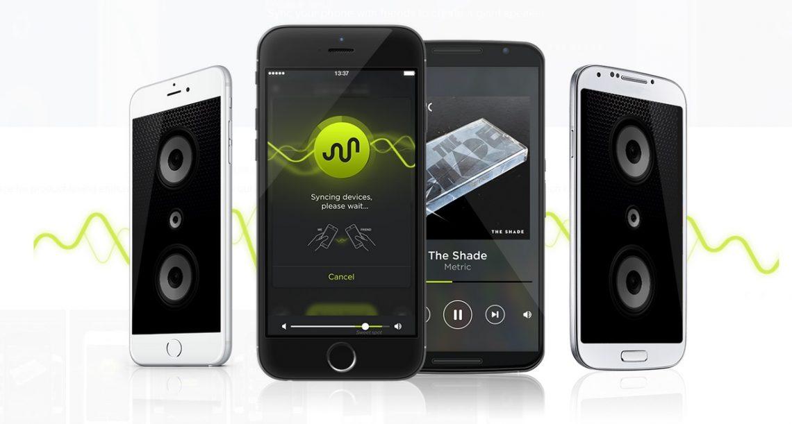AmpMe เชื่อมต่อ โทรศัพท์มือถือ ของเราและเพื่อน ให้กลายเป็นลำโพงยักษ์