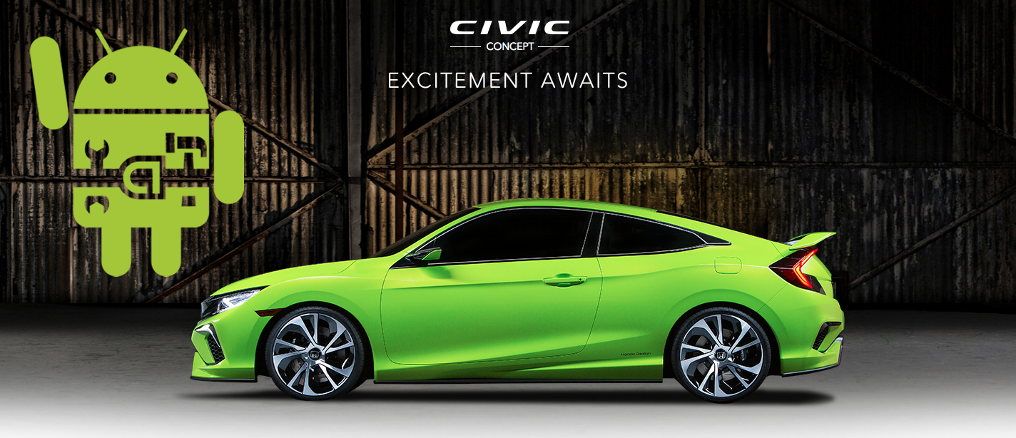 android Auto civic