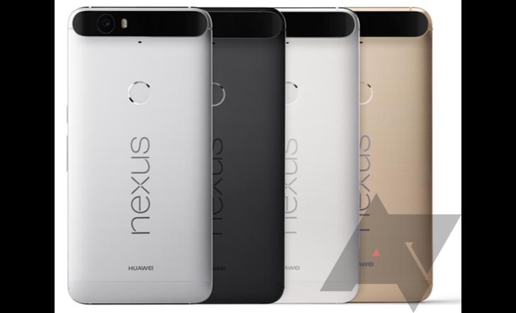มาแล้ว Nexus 6P สารพัดสี : ขาว, ดำ, เงิน และ ทอง