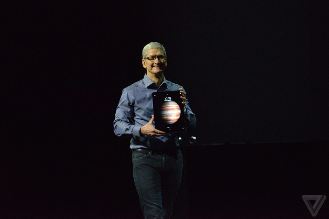 Apple เปิดตัว iPad Pro ไอแพดจอใหญ่ 12.9 นิ้ว พร้อม Apple Pencil ซื้อครบชุดต้องมีเงินครึ่งแสน!!