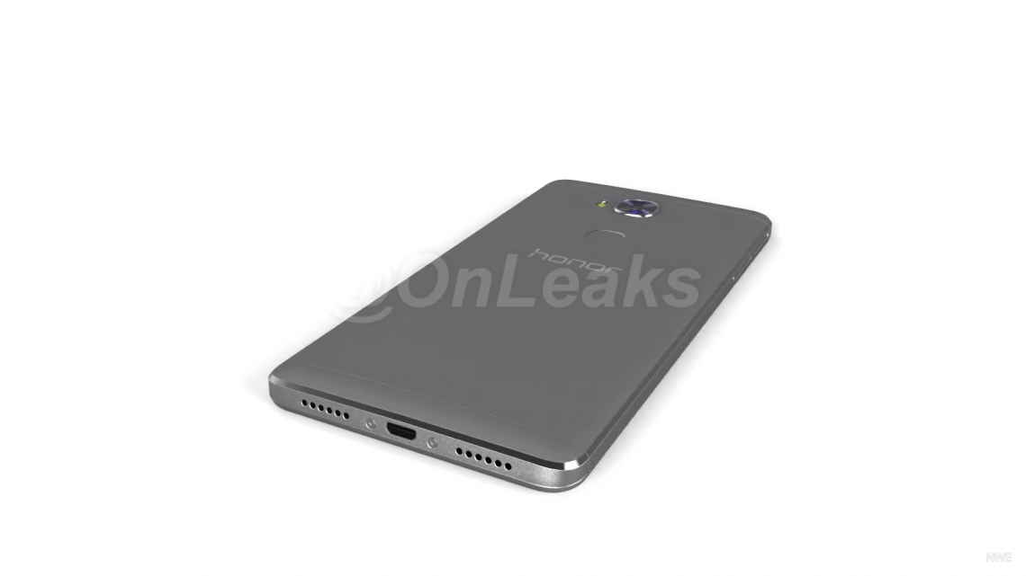 หลุดคลิป Render ของ Huawei Honor 7 Plus จาก @OnLeaks