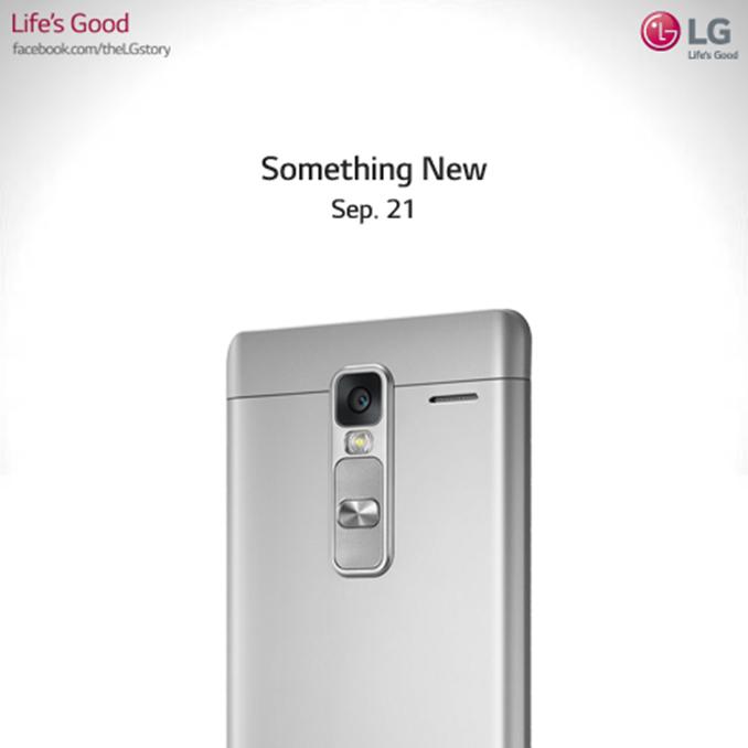 LG เตรียมเปิดตัวของใหม่ 21 กันยายนนี้ คาดว่าอาจจะเป็น Phablet ระดับกลาง LG Class