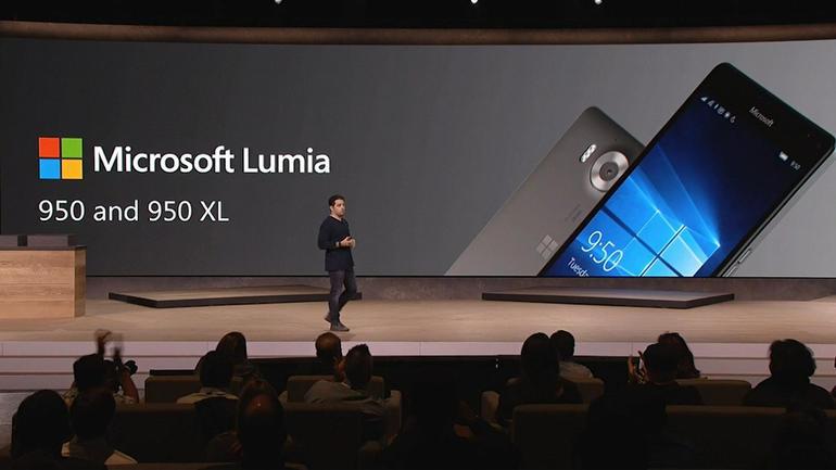 Microsoft เปิดตัว Lumia 950 พร้อมเสียงเรียกเข้าใหม่ยกชุด