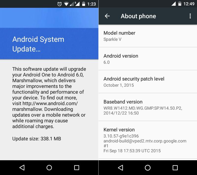 เหล่าผู้ใช้ Android One เริ่มได้รับอัพเดต Android 6.0 ...