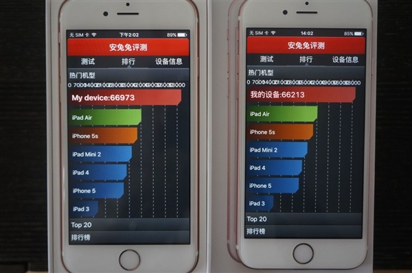Apple iPhone 6s with TSMC vs iPhone 6s with Samsung A9 processors7