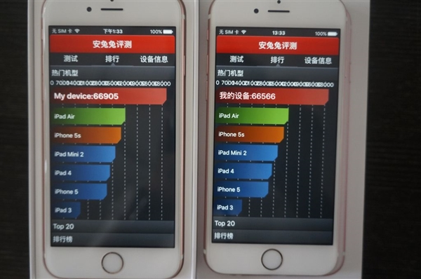 Apple iPhone 6s with TSMC vs iPhone 6s with Samsung A9 processors9