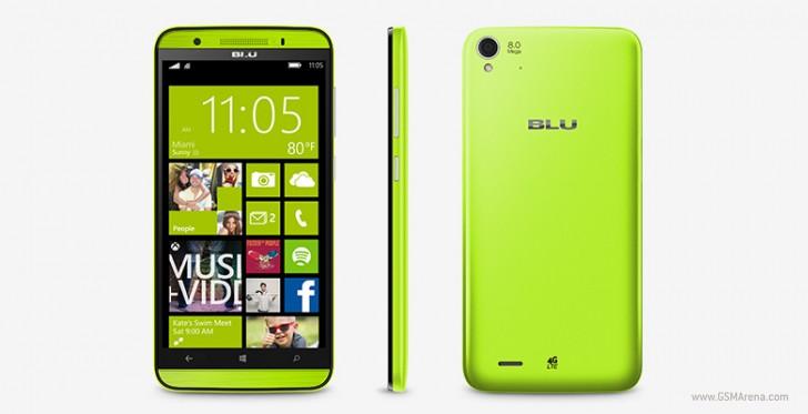 BLU HD LTE windows 10