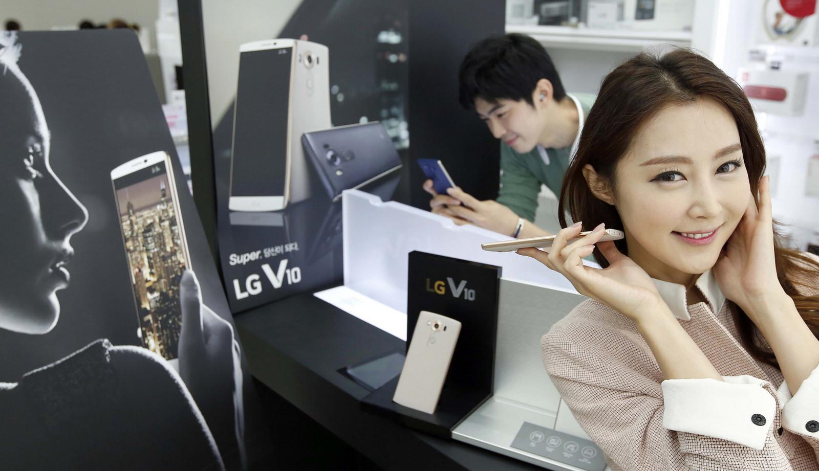 LG V10 official images