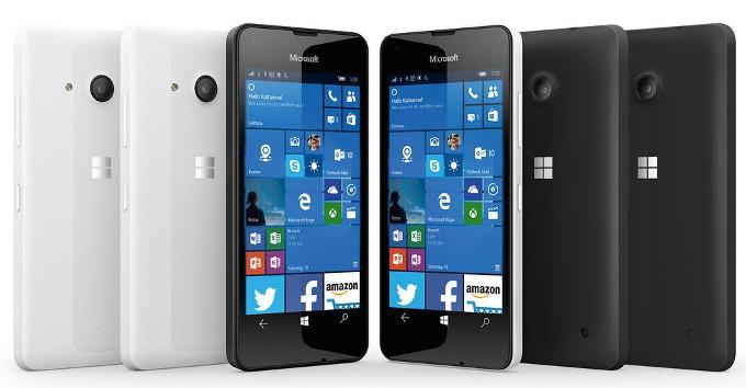 Microsoft เปิดตัวรุ่นคุ้มค่าตัวใหม่ Lumia 550 มาพร้อม Windows 10