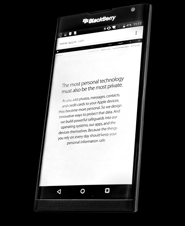 BlackBerry โชว์ของ จัดคลิปโชว์ฟีเจอร์ของ BlackBerry Priv