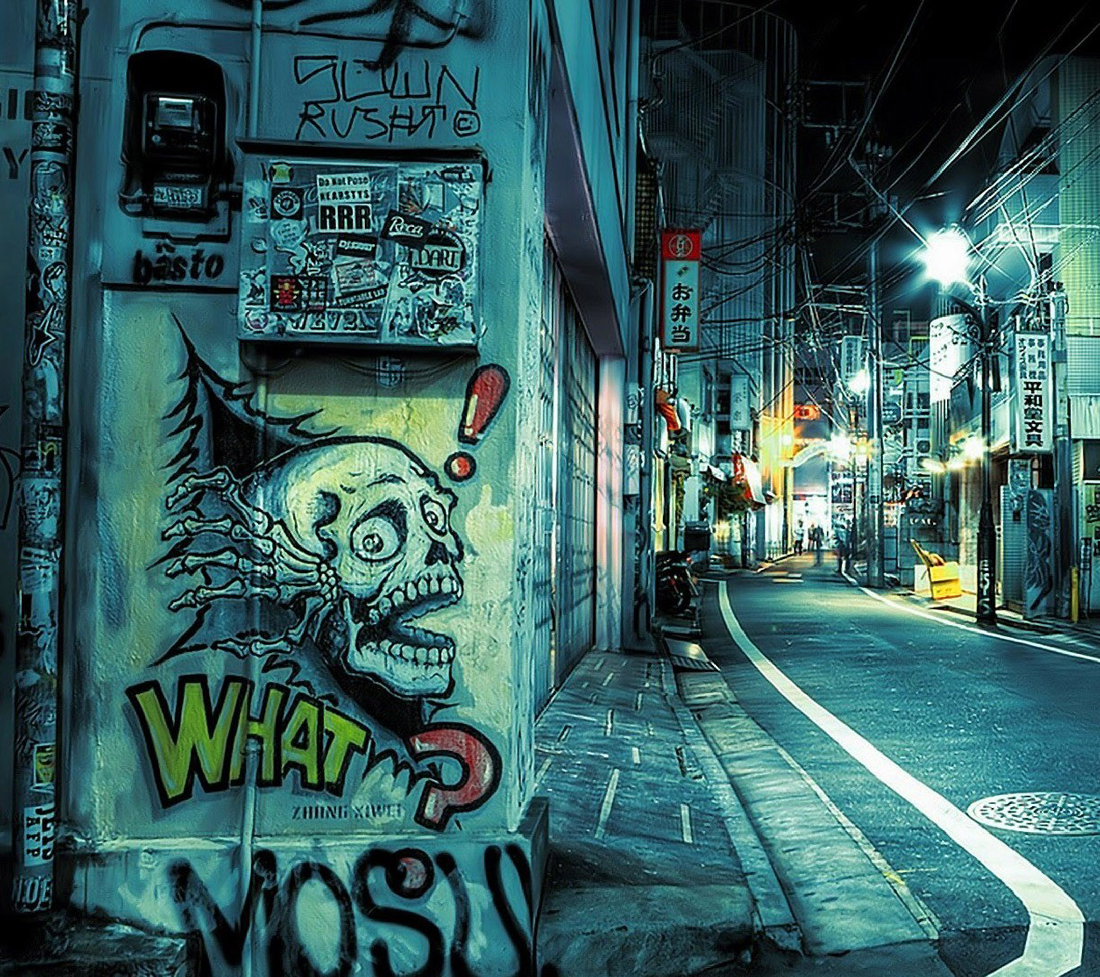 Street Graffiti wallpaper 10104945