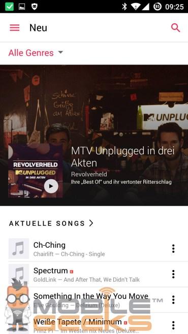 หลุดภาพสกรีนช็อต Apple Music สำหรับชาว Android เตรียมเปิดตัวแล้วเร็วๆนี้