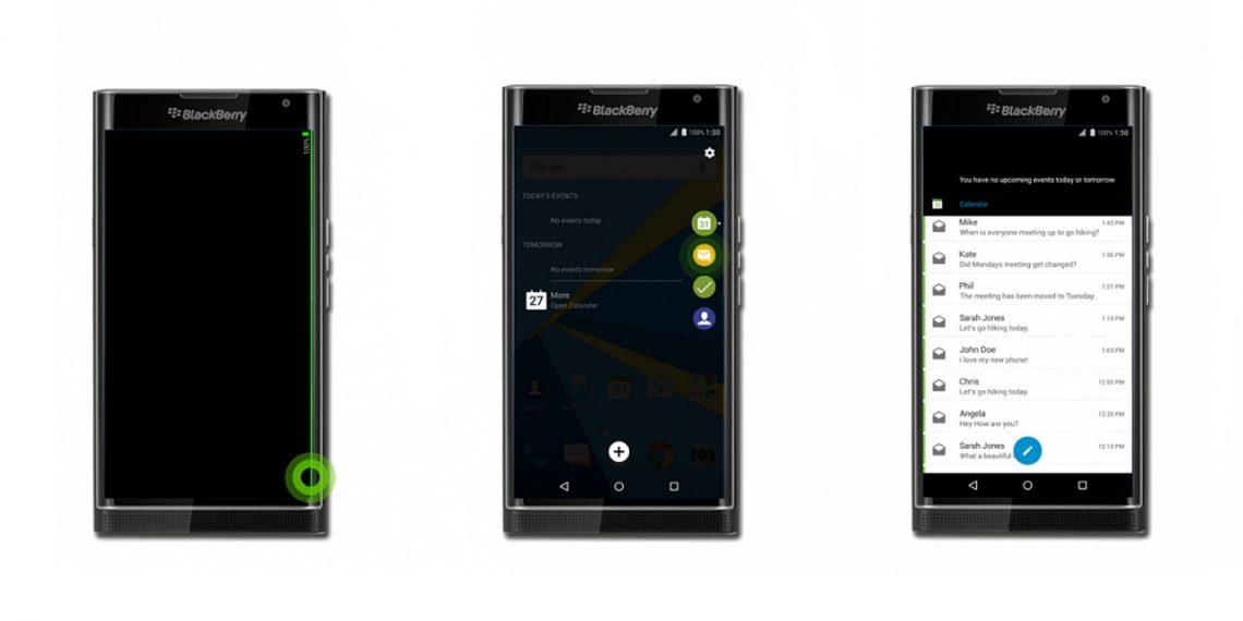 หลุดภาพ BlackBerry PRIV ขอบจอโค้งเหมือน Galaxy S6 Edge