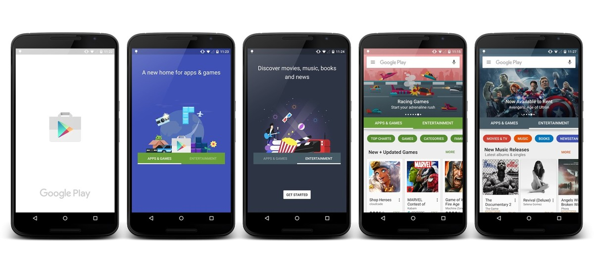google-play-redesign-screen