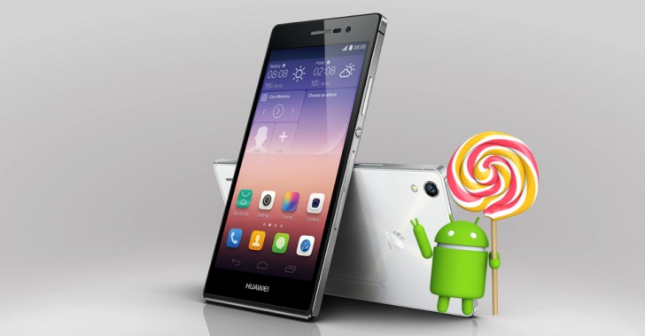Huawei Ascend P7 เริ่มได้รับการอัพเดต Android 5.1.1 Lollipop แล้ว