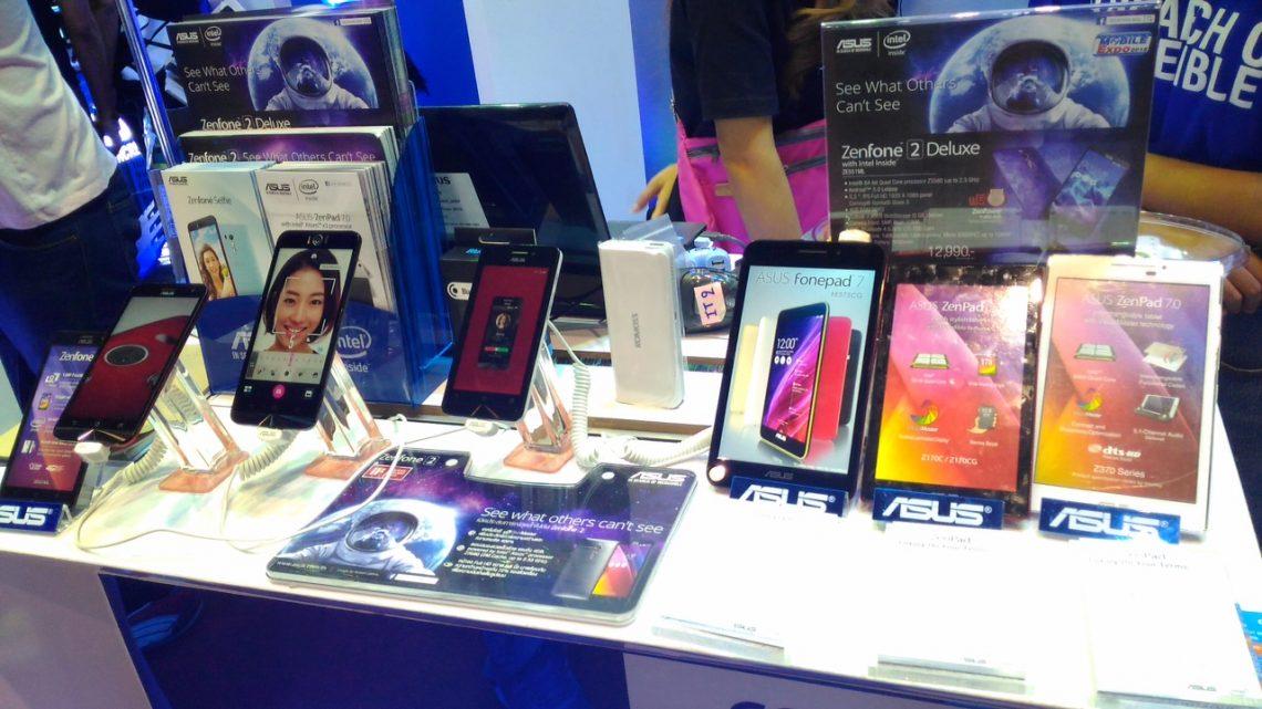 กระแสแรงไม่มีตก! พบกับสมาร์ทโฟนรุ่นใหม่เพียบ จาก ASUS ที่งาน Thailand Mobile Expo 2015