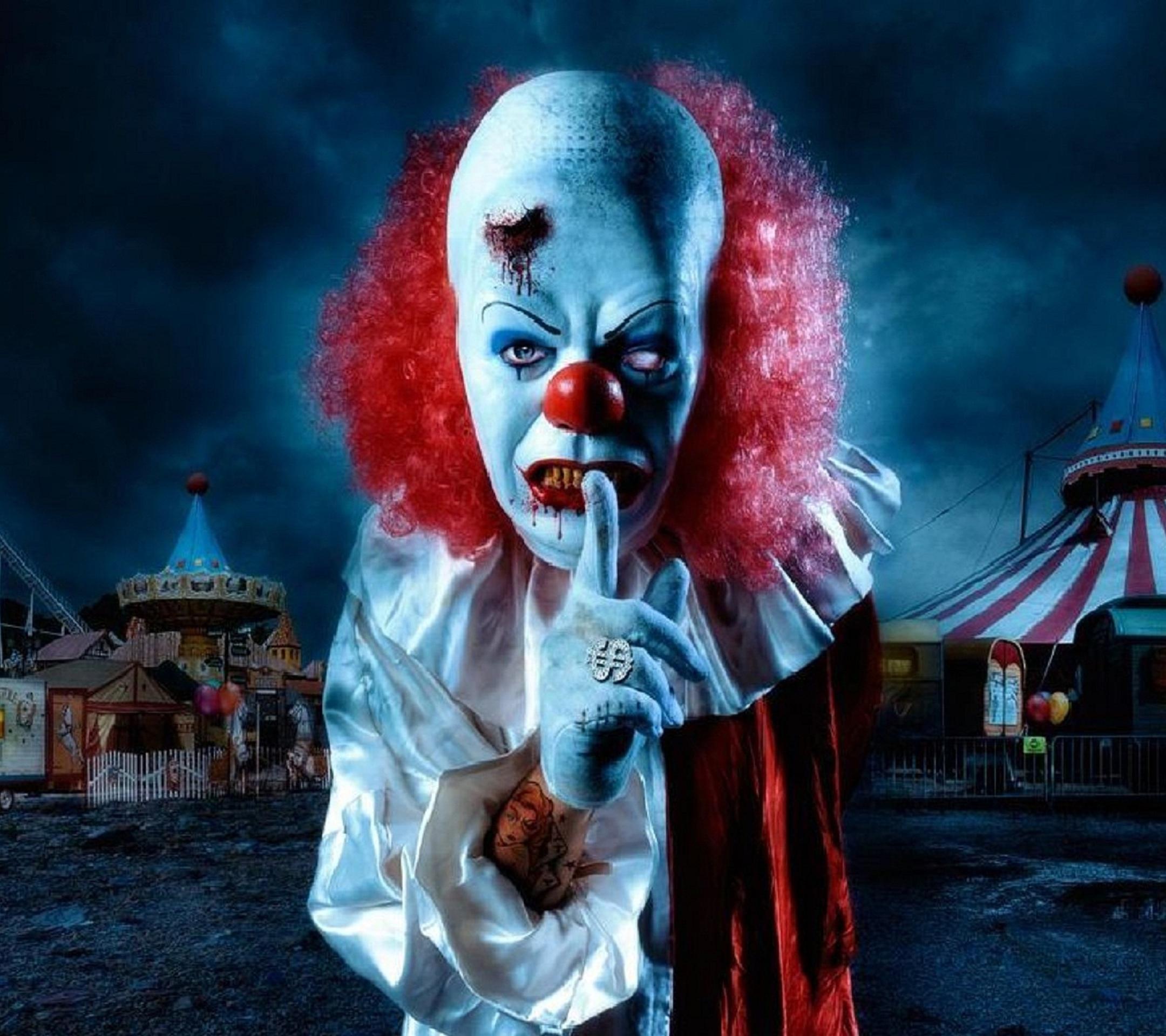 wicked clown wallpaper 10420232