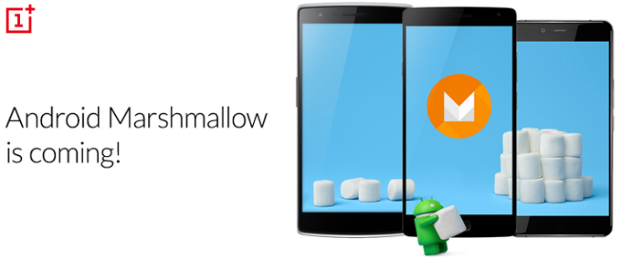 OnePlus Androdi 60 Marshmallow update 1