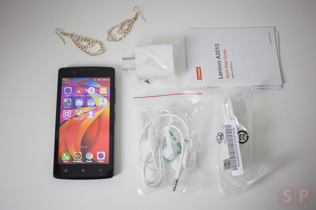 Review True Lenovo A2010 SpecPhone 000281