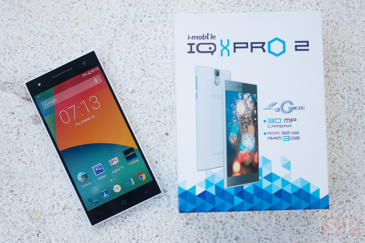 Review i mobile IQ X Pro 2 SpecPhone 00010