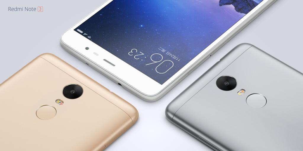 เปิดตัว Xiaomi Redmi Note 3 กล้องโฟกัสเร็วเฟ่อ 0.1 วินาที CPU Helio X10 ราคาเริ่มต้น 5,000 บาท