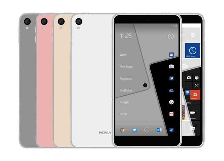ภาพเรนเดอร์เผย!! Nokia C1 จะเป็นมือถือที่ใช้ 2 OS ในรุ่นเดียว!!!