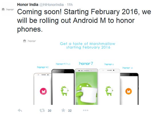 Huawei เตรียมปล่อย Android 6.0 ให้ตระกูล Honor กุมภาพันธ์ 2016!!