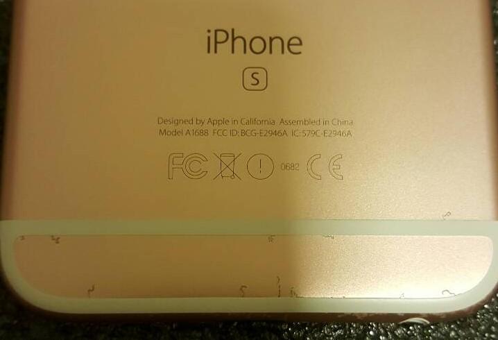 งานงอกแล้ว!! ผู้ใช้งาน iPhone 6s สี Rose Gold พบปัญหาสีเครื่องลอก!!