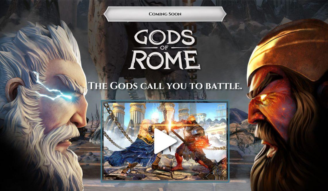 เหล่าเทพมาเพียบบ!! Gods Of Rome เกมใหม่ล่าสุดจาก Gameloft ได้เล่นแน่เร็วๆ นี้