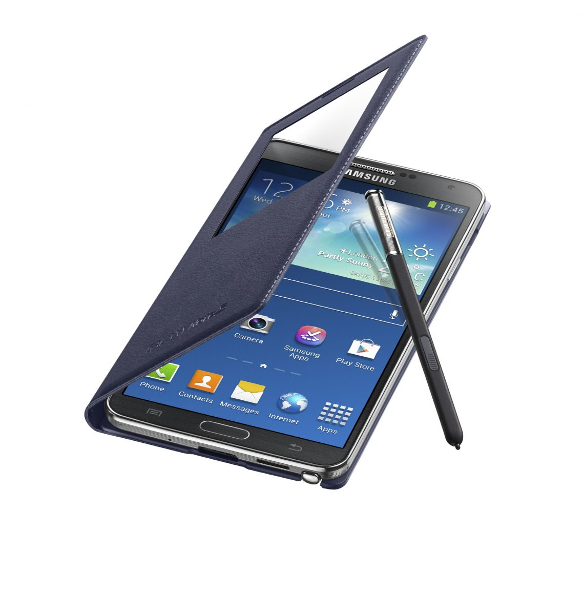 Samsung กำลังพัฒนา S View cover ที่สามารถทำให้สมาร์ทโฟนรุ่นอื่นใช้ปากกา S Pen ได้ !!!