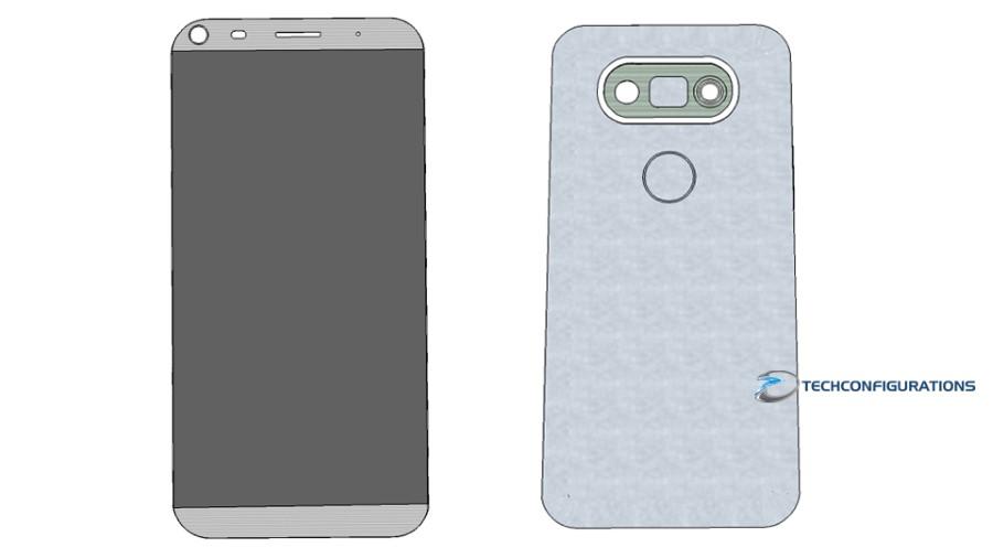 LG G5 duo cameras