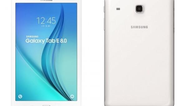 ลองเชิง !!! Samsung เปิดตัว Galaxy Tab E 8.0 รุ่นใหม่เฉพาะในไต้หวันก่อน !!!