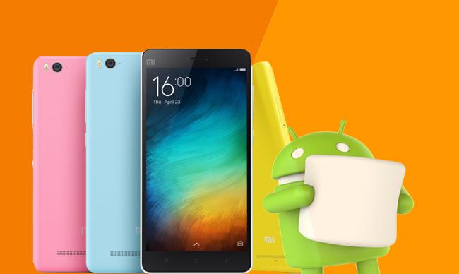 Xiaomi Mi 4i Marshmallow 6.0.1