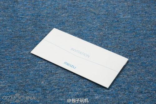 หลุด!! ภาพจดหมายเชิญไปร่วมงานเปิดตัวมือถือที่คาดว่าจะเป็น Meizu MX6