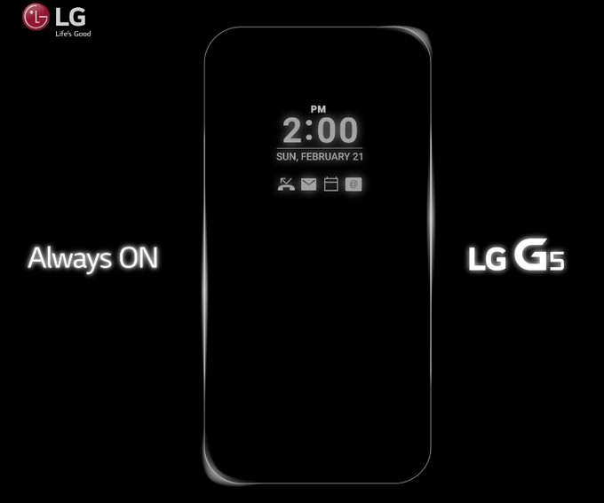 LG G5 official teaser image plus alleged real photos