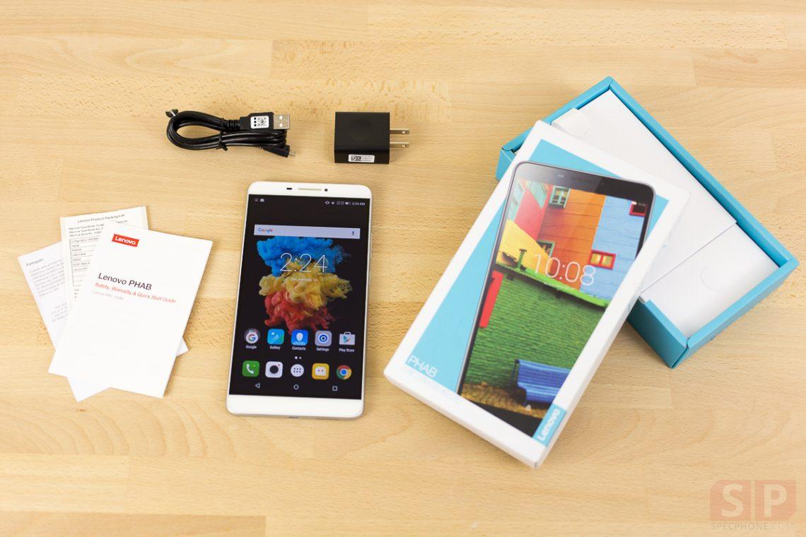 [Review] รีวิว Lenovo PHAB แฟ็บเล็ตดีไซน์เก๋ไก๋ หน้าจอ 6.9 นิ้ว ในราคา 7,990 บาท