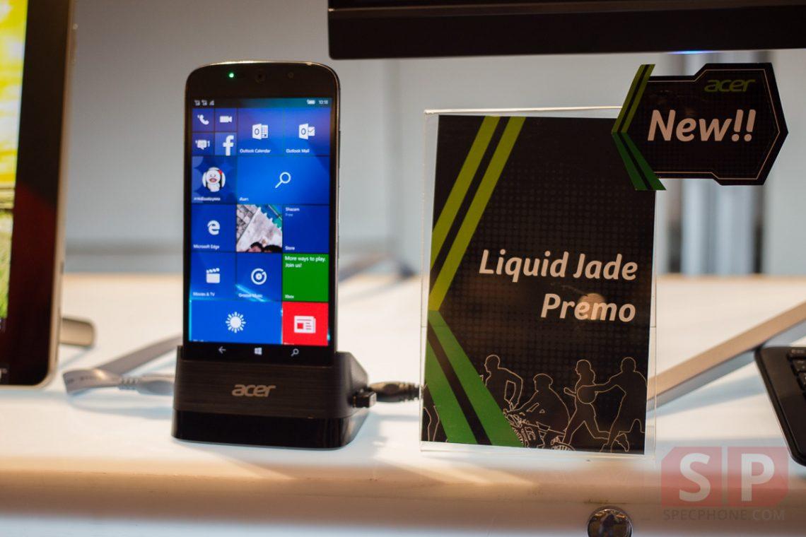 [Hands On] ลองจับ ACER Liquid Jade Primo มือถือ Windows 10 ดีไซน์สุดล้ำพร้อมกล้อง 21 ล้านพิกเซล!!