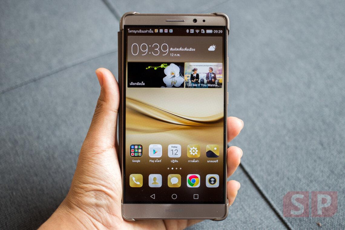 [Review] รีวิว Huawei Mate 8 พี่ใหญ่จอ 6 นิ้ว CPU แรงเฟ่อร์ Ram 4 GB ในราคา 23,990 บาท