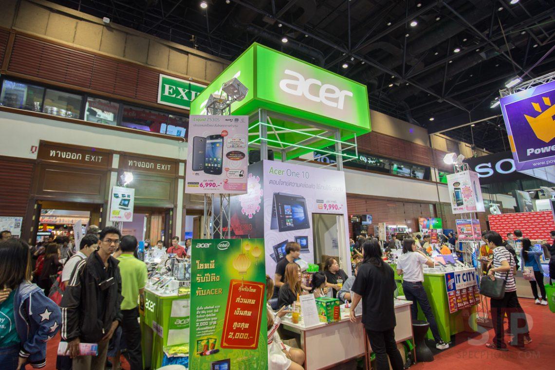 พาส่องบูธ ACER ภายในงาน TME 2016 ครั้งนี้ Acer พามือถือ 3 ซิมก็มาด้วยนะ!!!