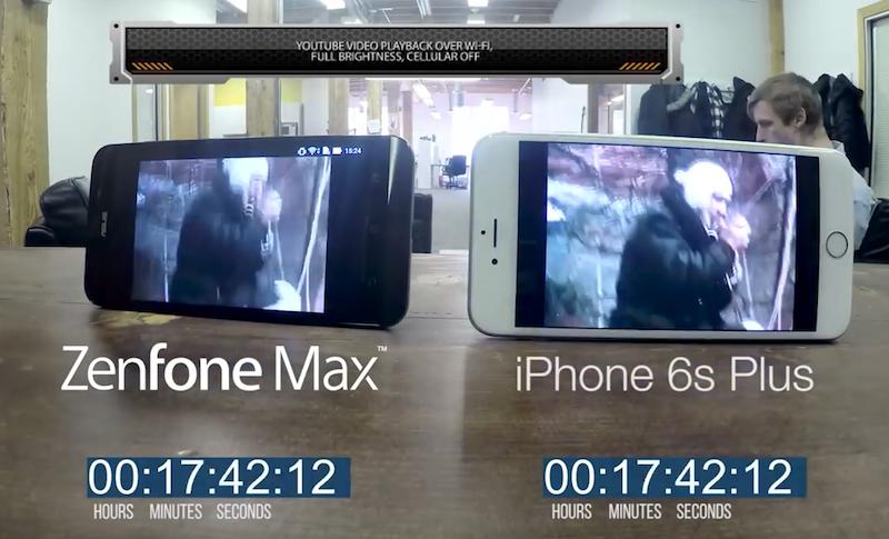 ASUS Zenfone Zoom vs iPhone 6s Plus Battery Challenge 00005