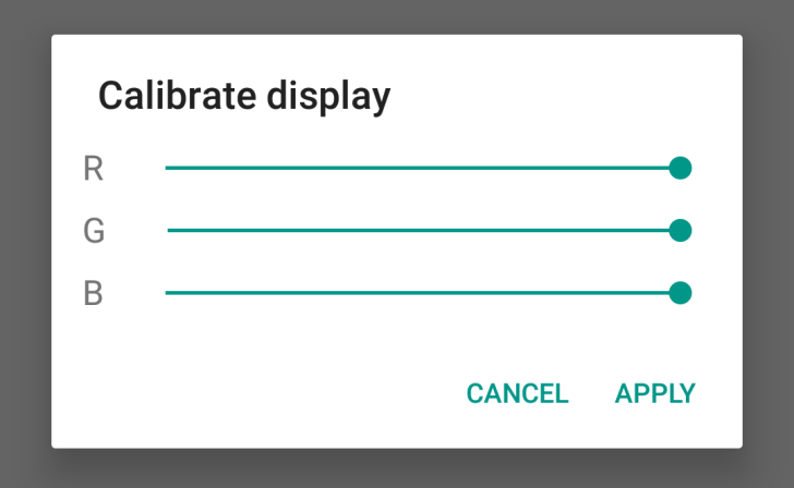 Display-calibration
